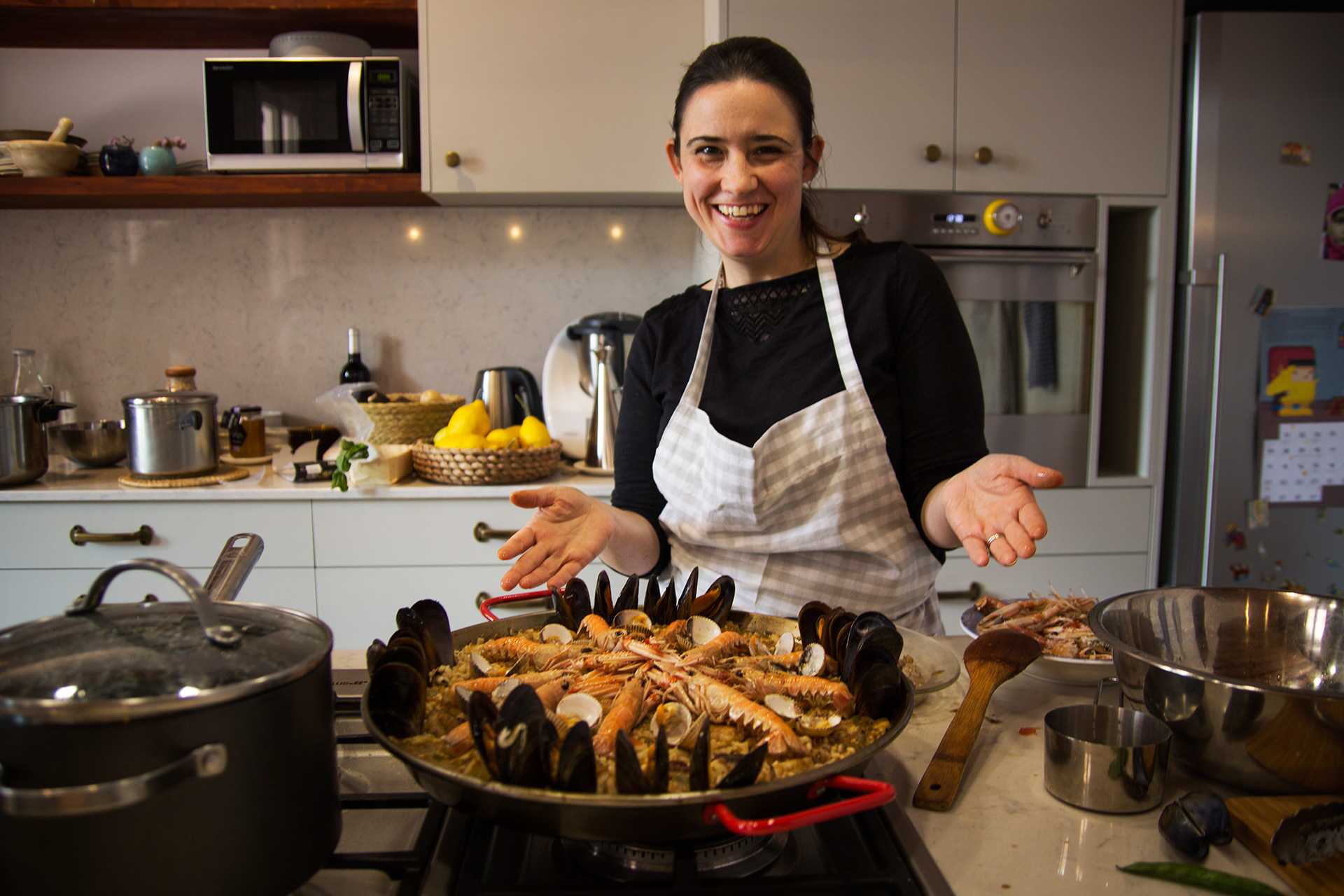 Half-day Catalan Home Cooking Classes in Barcelona